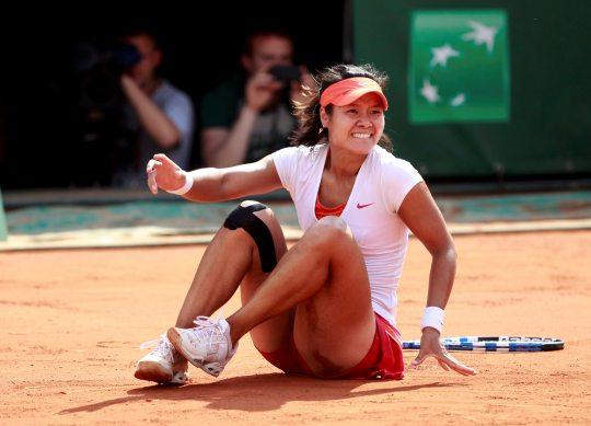 Теннисистка На-Ли - 8 миллионов