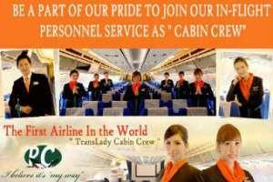 Авиакомпания с бортпроводниками-трансвеститами приостановила полеты