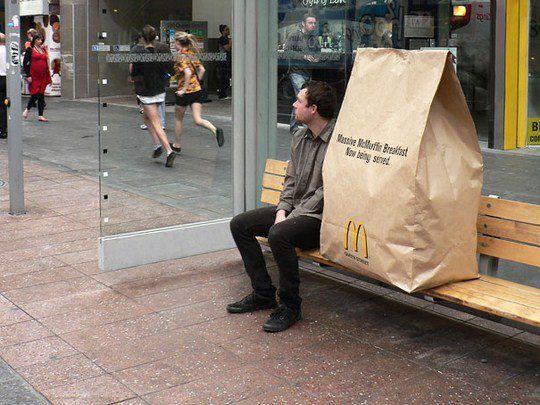 Большой завтрак в McDonald's