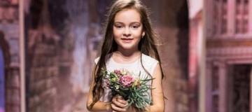 Шестилетняя дочь Филиппа Киркорова вышла на подиум в образе невесты