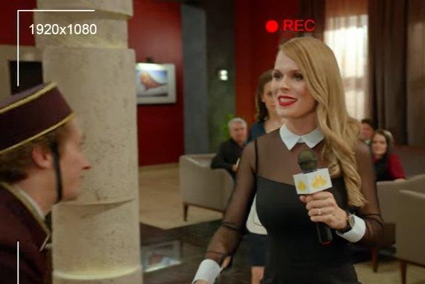 Ольга Фреймут сыграла саму себя в российском телесериале