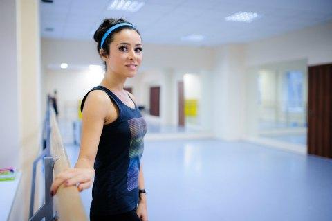 Певица Злата Огневич уже третий год занимается балетом