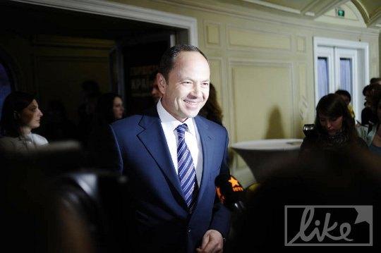 Вице-премьер-министр, министр социальной политики Сергей Тигипко