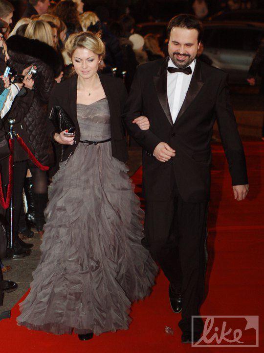 Антон Лирник с супругой
