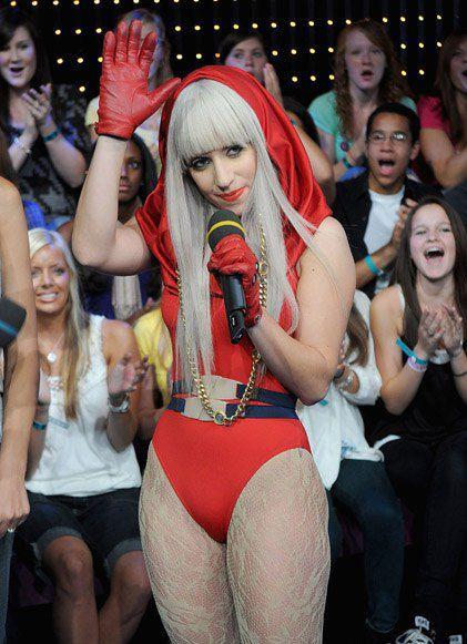 Леди Гага в юности была пышечкой