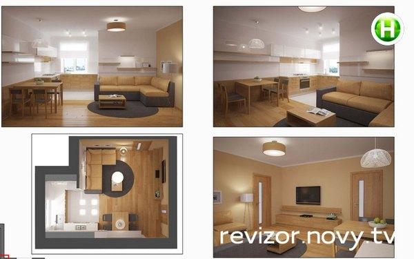 Ольга Фреймут всем продемонстировала дизайн своей квартиры
