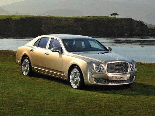 Самый дорогой в линейке Bentley - седан Muslanne. Возможно, именно он - предмет гордости Филиппа.