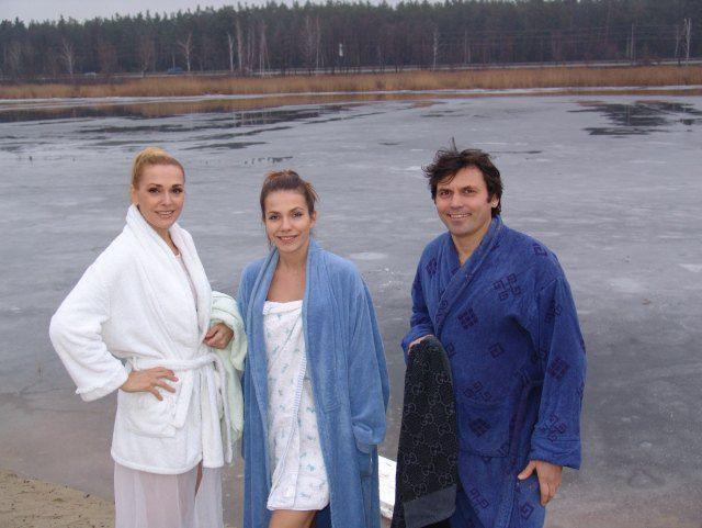 Ольга Сумская, Антонина Паперная и Виталий Борисюк