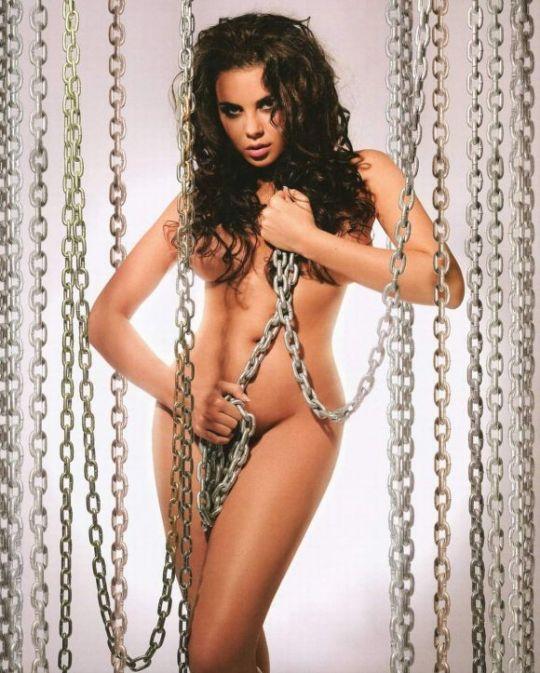 Настя Каменских на страницах Playboy