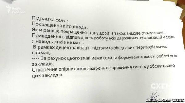 Текст программы будущего губернатора Николаевской области