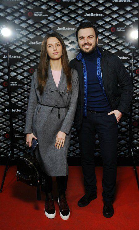 Григорий Решетник на модных показах - всегда с супругой