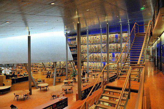 Библиотека Делфтского технического университета, Южная Голландия, Нидерланды