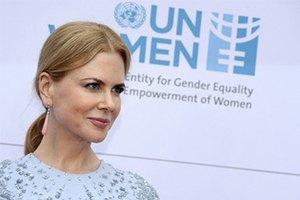 Николь Кидман получила премию как посол ООН