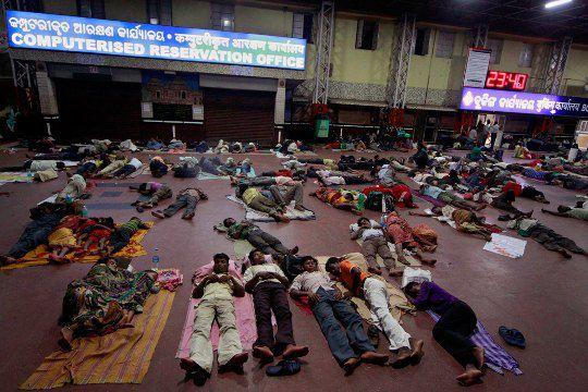 Индия. Железнодорожный вокзал