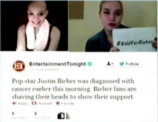 Фанатки певца восприняли его мнимую болезнь, как призыв к действию