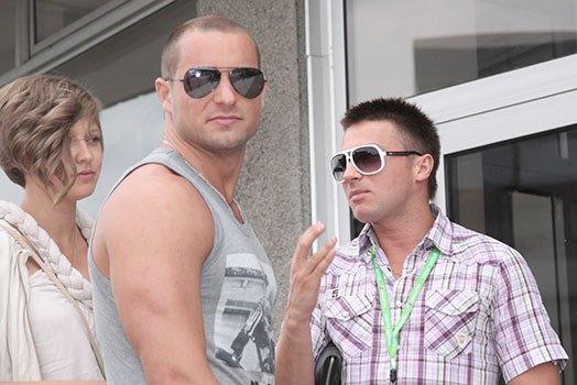 Михаил Дворецкий и Сергей Лазарев