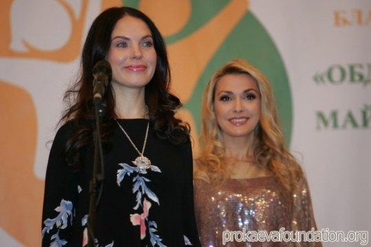 Влада Прокаева (Литовченко) и Ольга Сумская