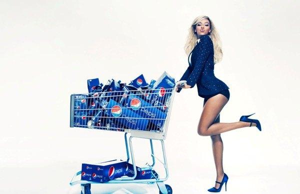 Бейонсе заключила контракт с Pepsi