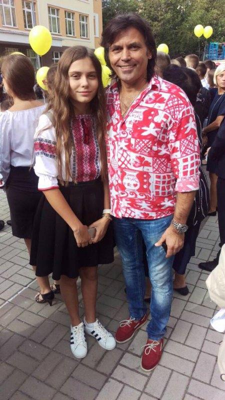 Младшая дочь Ольги Сумской Аня неожиданно стала почти девушкой - пошла в девятый класс