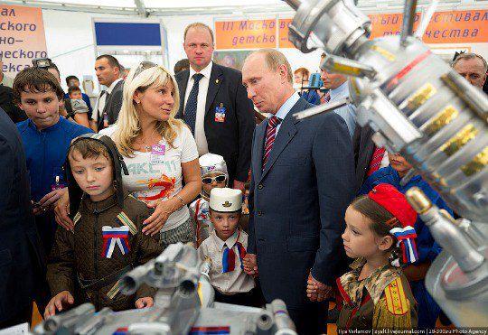 Дети не выпускали Владимира Владимировича