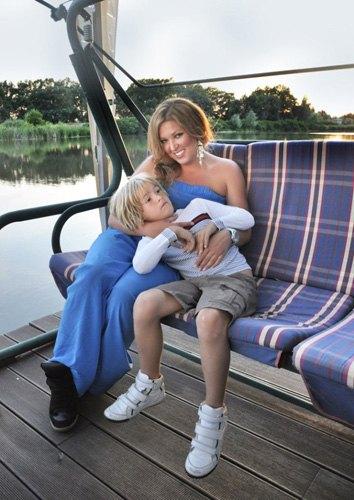 Ирина с сыном Артемом