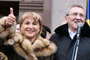 Черновецкий разводится с женой