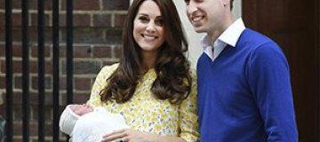 Кейт Миддлтон и принц Уильям покрестили дочь