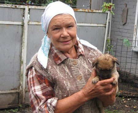 Мама Андрея Данилко, Светлана Ивановна, живет в селе Клименки под Полтавой