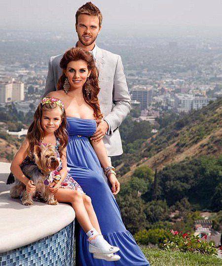 Дочь Анны Седоковой Алина учится в Лос-Анджелесе