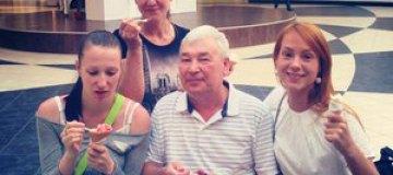 Тарабарова провела майские с семьей