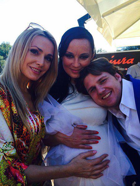 Ольга Сумская, Наталья Ворона и Андрей Ищенко