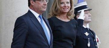 Президент Франсуа Олланд бросил Валери Триервейлер