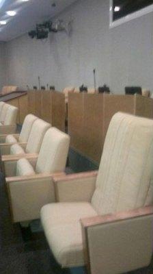 Депутатское кресло Николая Валуева