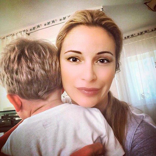 Ольга Орлова с сыном Жанны Фриске Платоном