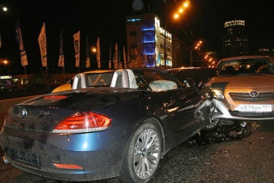 Фото пострадавшей Ирины Лихолетовой с места ДТП