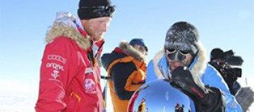 Принц Гарри достиг Южного полюса