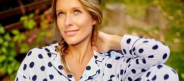 Катя Осадчая перестала скрывать округлившийся живот