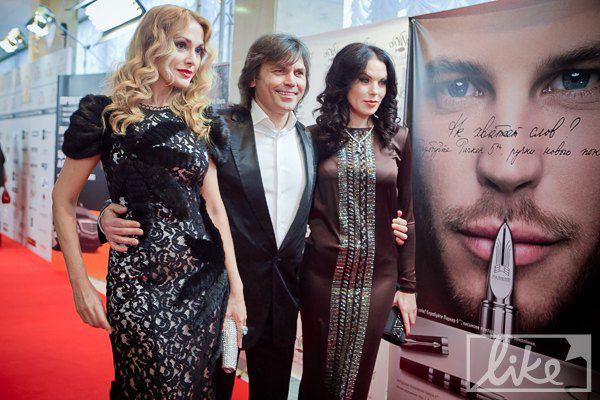 Ольга Сумская с мужем Виталием Борисюком и подругой Владой Литовченко