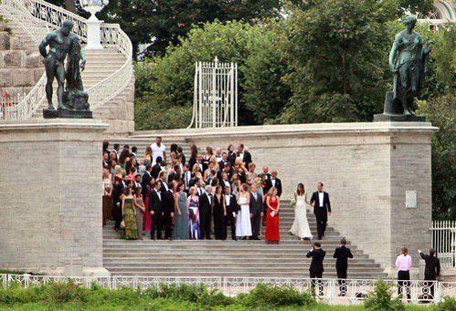 Свадьбу играли в Екатерининском дворце