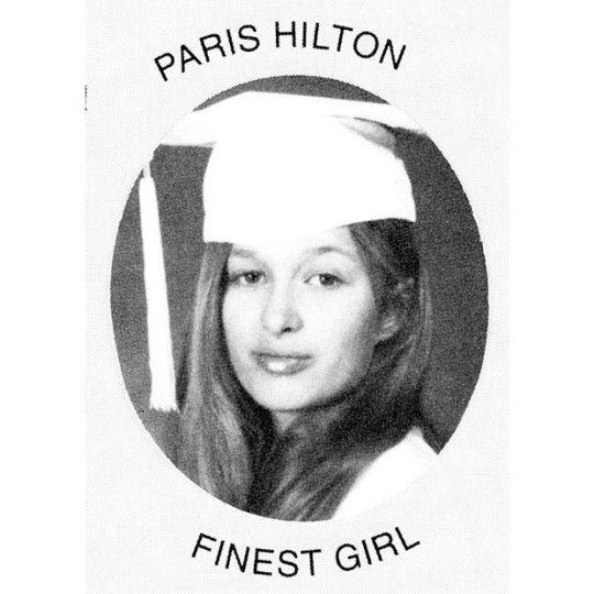 Пэрис Хилтон (Paris Hilton) в восьмом классе школы St Paul the Apostle School, 1995 год
