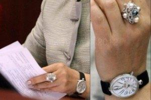 Секретарь Киевсовета носит на руке золота и бриллиантов на полмиллиона