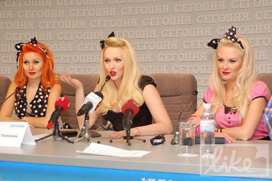 Полякова устроила пресс-конференцию в стиле предвыборной компании