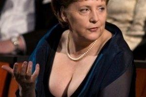 Лагерфельд посоветовал Ангеле Меркель расстегнуть пиджак
