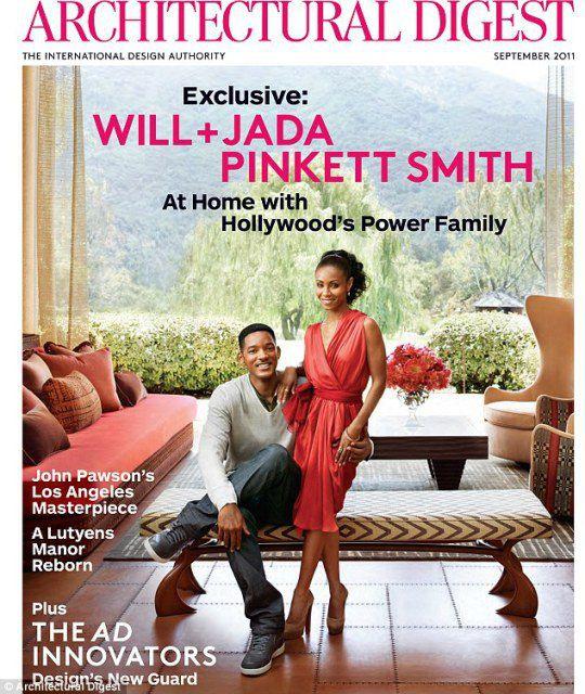 Уилл и Джада на обложке журнала месяц назад