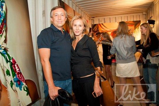Режиссер и клипмейкер Семен Горов с женой Яной