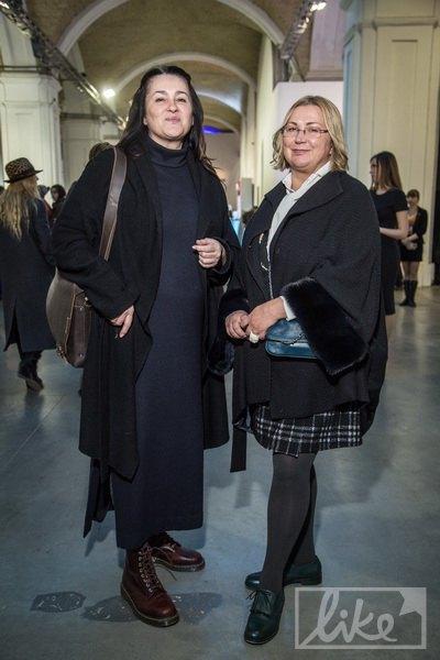 Ольга Герасимюк (слева)