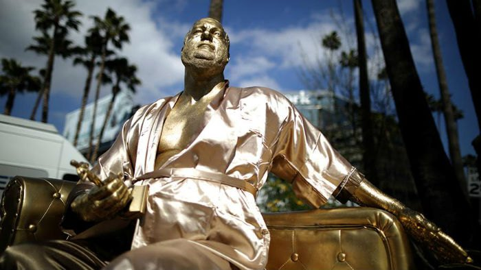 Скульптура Харви Вайнштейна