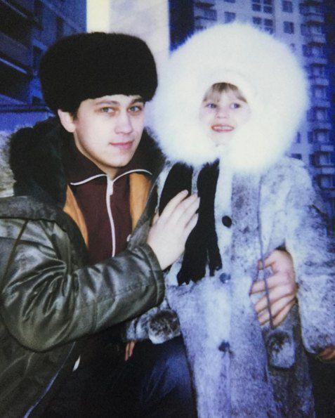 Анна Курникова с отцом