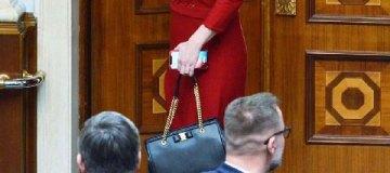 Депутат фракции Порошенко ходит в Раду с сумкой почти за 1 тыс. евро