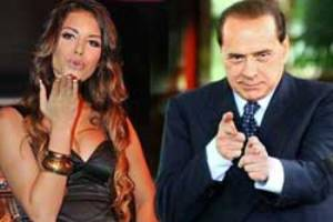 19-летняя любовница Берлускони родила ребенка